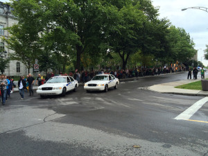 photo par l'AQLP du 21 septembre à Québec