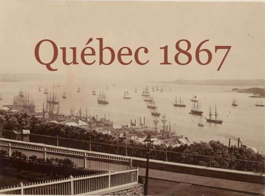 Québec 1867: ville de gauche, multiethnique et multiculturelle