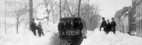 1865, les débuts du transport en commun à Québec