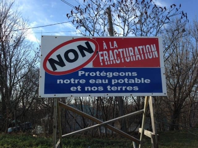 Nouveau règlement sur l'eau potable : Colère en Gaspésie